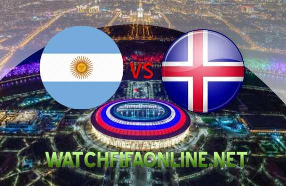 Argentina VS Iceland FIFA Live Stream