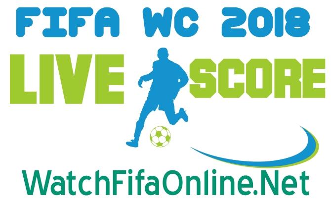 FIFA Live Score 2018