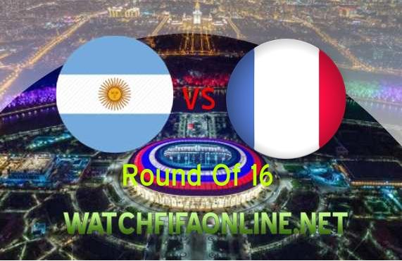 France vs Argentina FIFA WC 2018 Live Stream