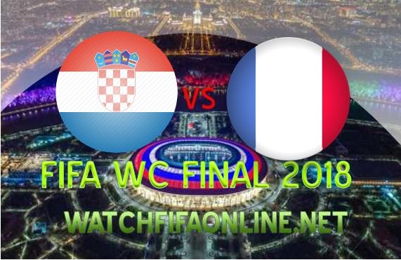 France vs Croatia FIFA WC Final 2018 Live