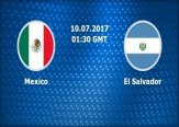 Gold Cup El Salvador VS Mexico Live