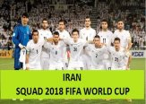Iran 2018 FIFA World Cup Squad