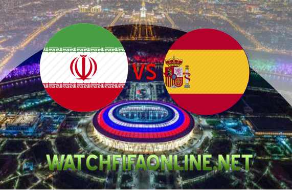 Iran vs Spain FIFA WC Live Online