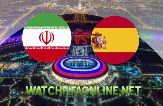 Iran vs Spain FIFA WC Live Online