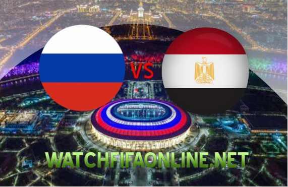 Live FIFA Russia vs Egypt Online