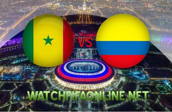 Live Senegal vs Colombia WC 2018 Online