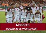 Morocco 2018 FIFA World Cup Squad