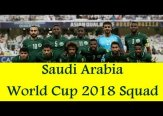 Saudi Arabia 2018 FIFA World Cup Squad