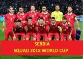 Serbia 2018 FIFA World Cup Squad