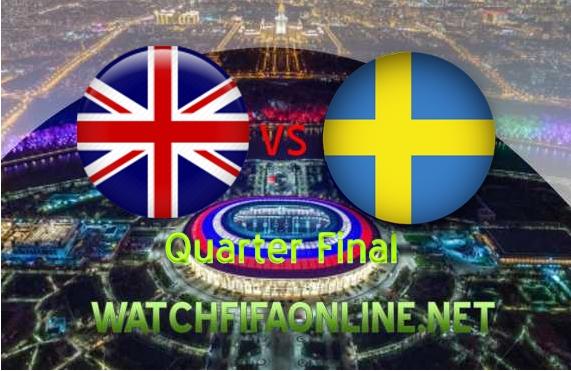 Sweden vs England Quarterfinal 2018 Live Stream