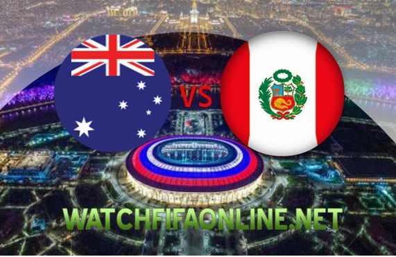 Watch Australia vs Peru 2018 FIFA Stream