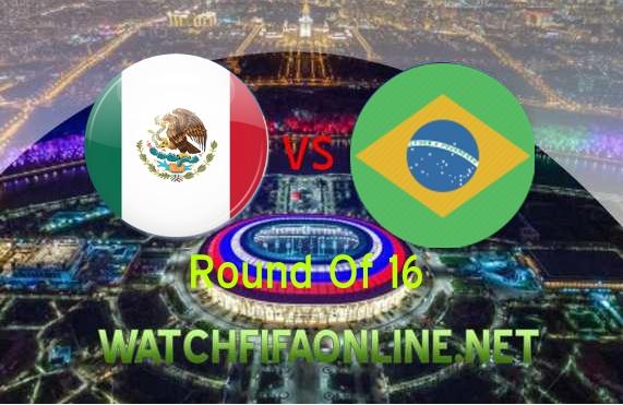Watch Brazil vs Mexico FIFA WC Live Stream