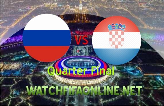 Watch Russia vs Croatia Quarterfinal WC Live