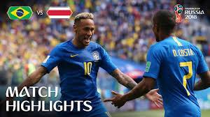Brazil Vs Costa MATCH-24 HIGHLIGHTS 22-JUNE-2018