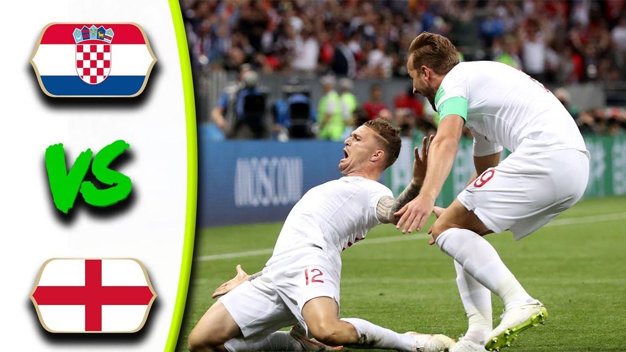 CROATIA VS ENGLAND MATCH 62-HIGHLIGHTS-11-JULY-2018