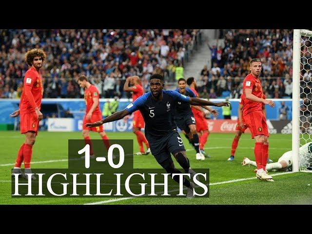 FRANCE VS BELGIUM MATCH 61-HIGHLIGHTS-10-JULY-2018