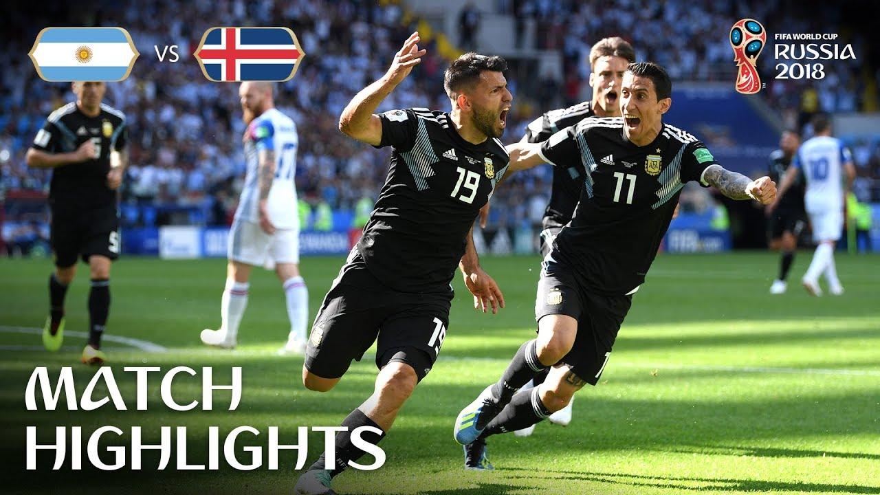 Argentina v Iceland - MATCH-7 HIGHLIGHTS 16-JUNE-2018