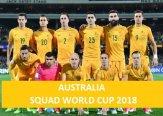 Australia 2018 FIFA World Cup Squad