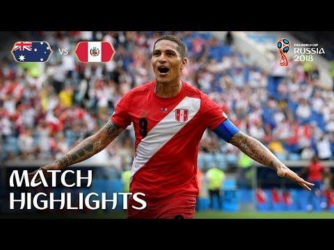 Australia vs Peru MATCH-38 HIGHLIGHTS 26-JUNE-2018
