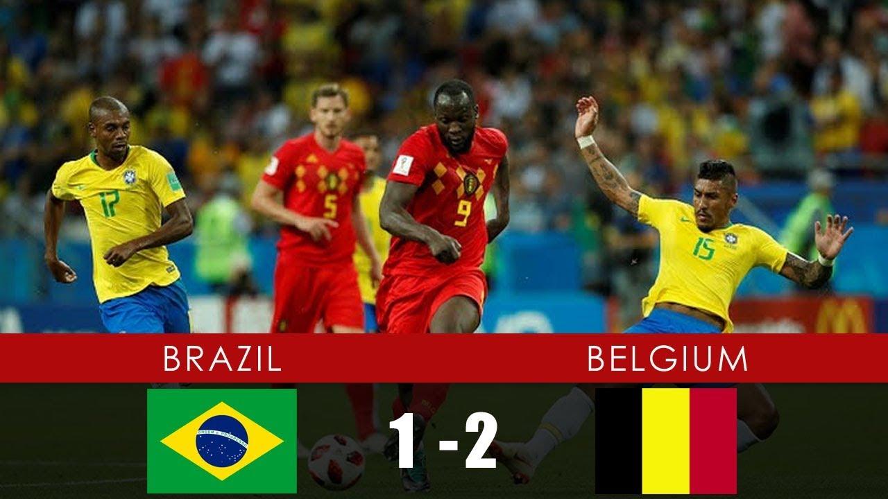 BELGIUM VS BRAZIL MATCH 58-HIGHLIGHTS 6-JULY-2018