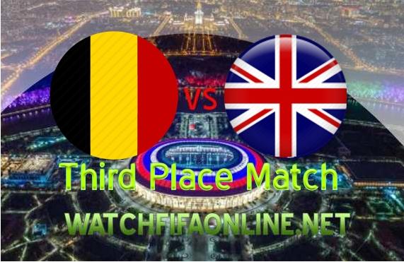 Belgium vs England FIFA 3rd Place Live