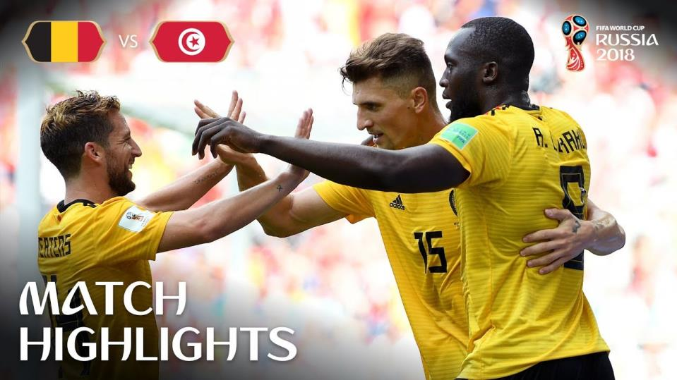 Belgium vs Tunisia MATCH-27 HIGHLIGHTS 23-JUNE-2018
