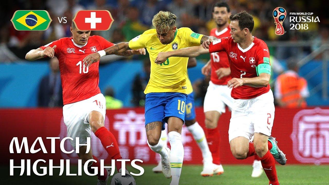 Brazil vs Switzerland MATCH-9 HIGHLIGHTS 17-JUNE-2018