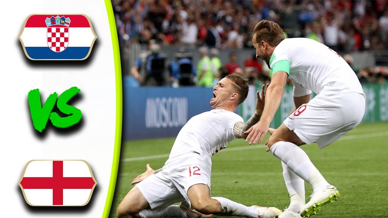 CROATIA VS ENGLAND MATCH 62-HIGHLIGHTS-11-JULY-2018