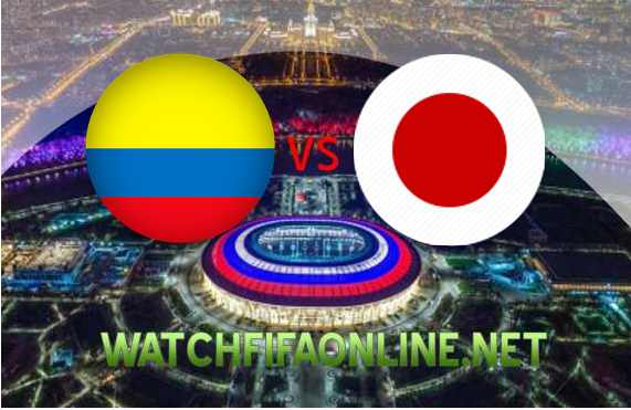 Colombia vs Japan FIFA Live Streaming