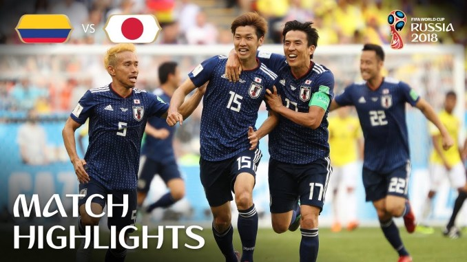 Colombia vs Japan MATCH-15 HIGHLIGHTS 19-JUNE-2018