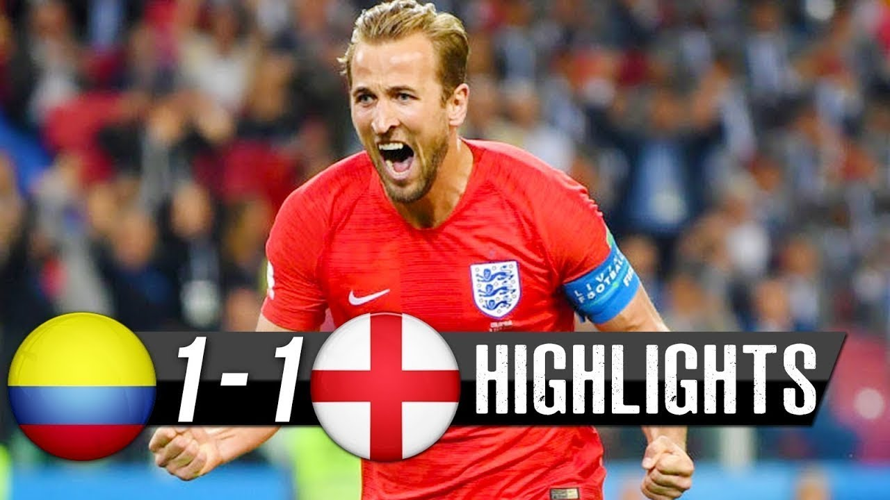 Colombia vs england MATCH 56- HIGHLIGHTS 3rd-July-2018
