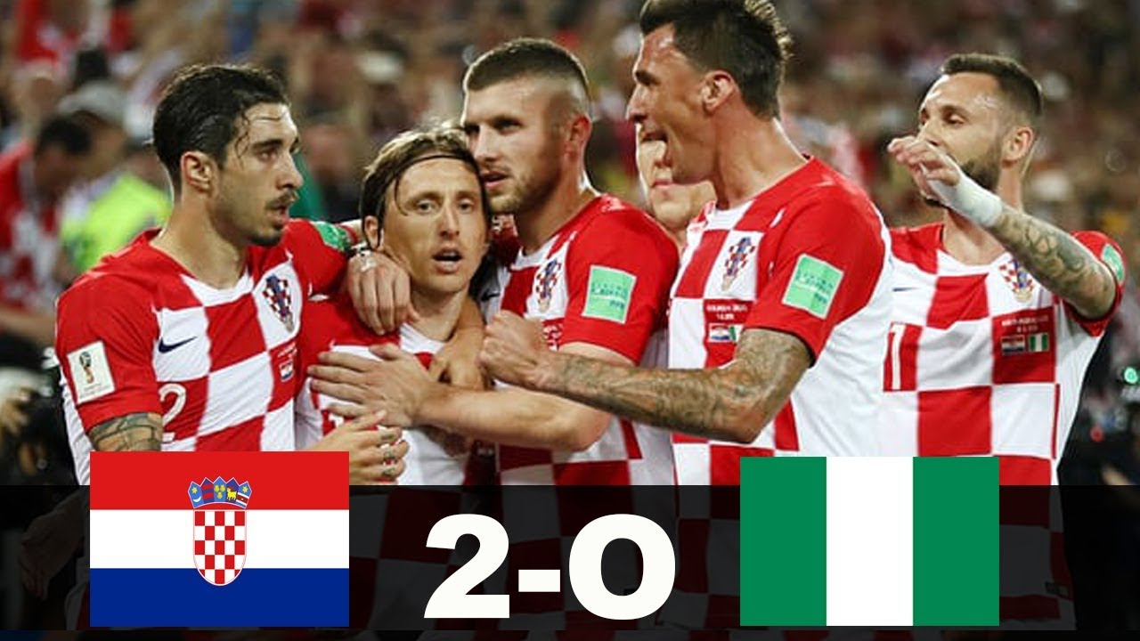 Croatia v Nigeria MATCH-8 HIGHLIGHTS 16-JUNE-2018