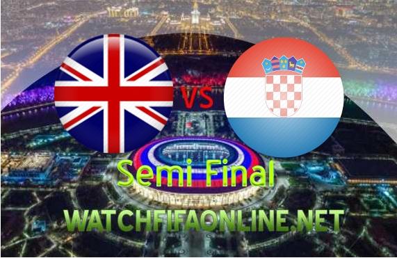 Croatia vs England FIFA Semifinal 2018 Live