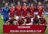 Denmark 2018 FIFA World Cup Squad