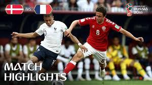 Denmark vs France MATCH-37 HIGHLIGHTS 26-JUNE-2018