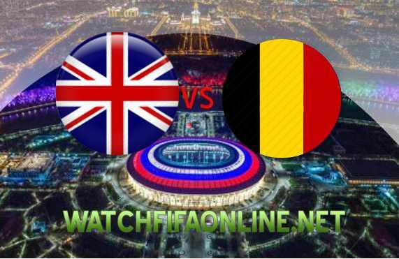 England vs Belgium Football WC 2018 Live