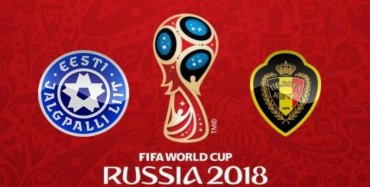 FIFA WC Estonia VS Belgium Live