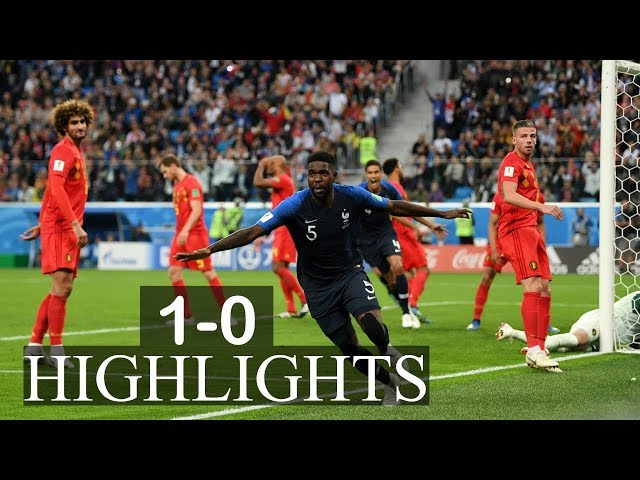 FRANCE VS BELGIUM MATCH 61-HIGHLIGHTS-10-JULY-2018