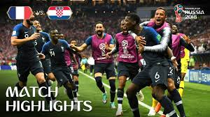 FRANCE VS CROATIA MATCH 64-HIGHLIGHTS-15-JULY-2018