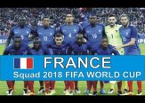 France 2018 FIFA World Cup Squad