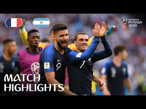 France v Argentina MATCH-50 HIGHLIGHTS 30-JUNE-2018