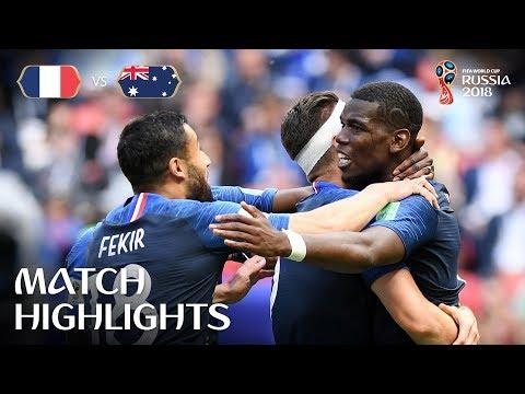 France v Australia MATCH-5 HIGHLIGHTS 16-JUNE-2018
