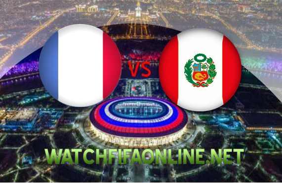 France vs Peru Football WC 2018 Live