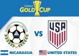 Gold Cup USA VS Nicaragua Live