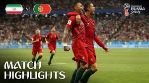IR Iran v Portugal MATCH-36 HIGHLIGHTS 25-JUNE-2018