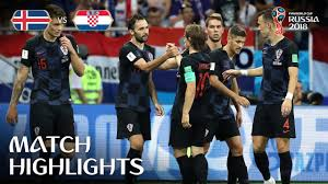 Iceland v Croatia MATCH-40 HIGHLIGHTS 26-JUNE-2018