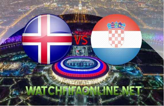 Iceland vs Croatia Football WC 2018 Live