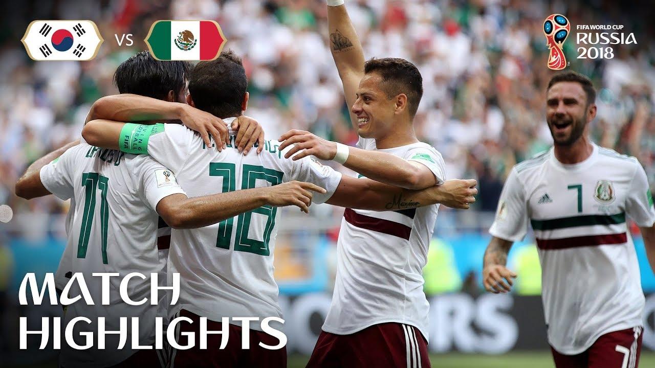 Korea Republic vs Mexico MATCH-28 HIGHLIGHTS 23-JUNE-2018