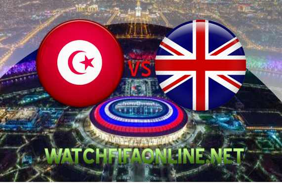 Live Stream Tunisia VS England