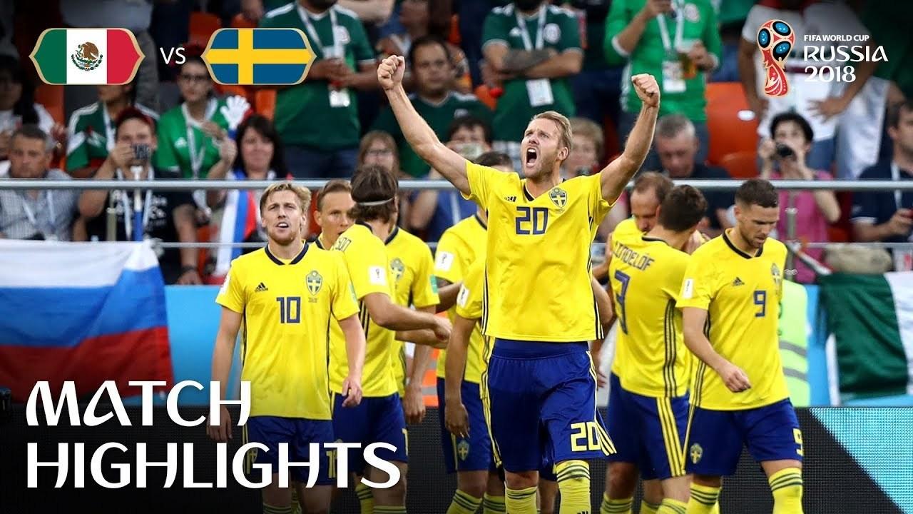 Mexico v Sweden MATCH-44 HIGHLIGHTS 27-JUNE-2018